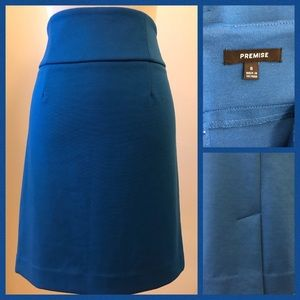 Blue Pencil Skirt size 8 🌹